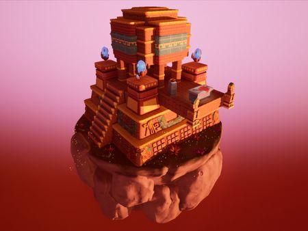 Diorama Pirámide Azteca