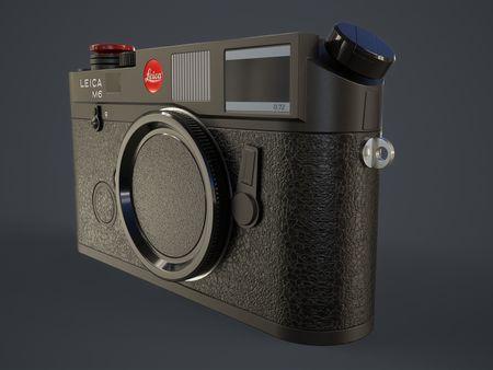 Leica M6 Camera Game Asset