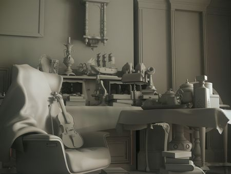 Sherlock's Office W.I.P