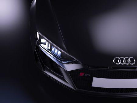 Audi R8 V10 Spyder - Automotive  Modeling (MAYA)