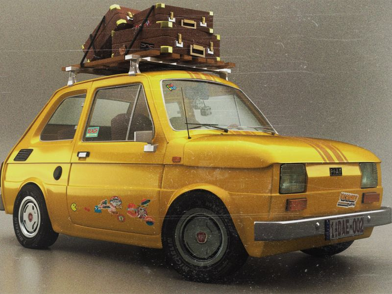 Fiat 126 Roadtrip