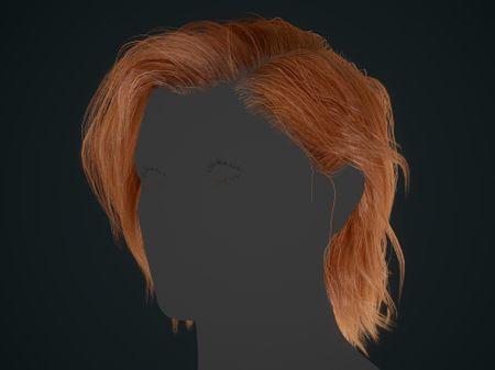 Realtime Hair (Banshee project)