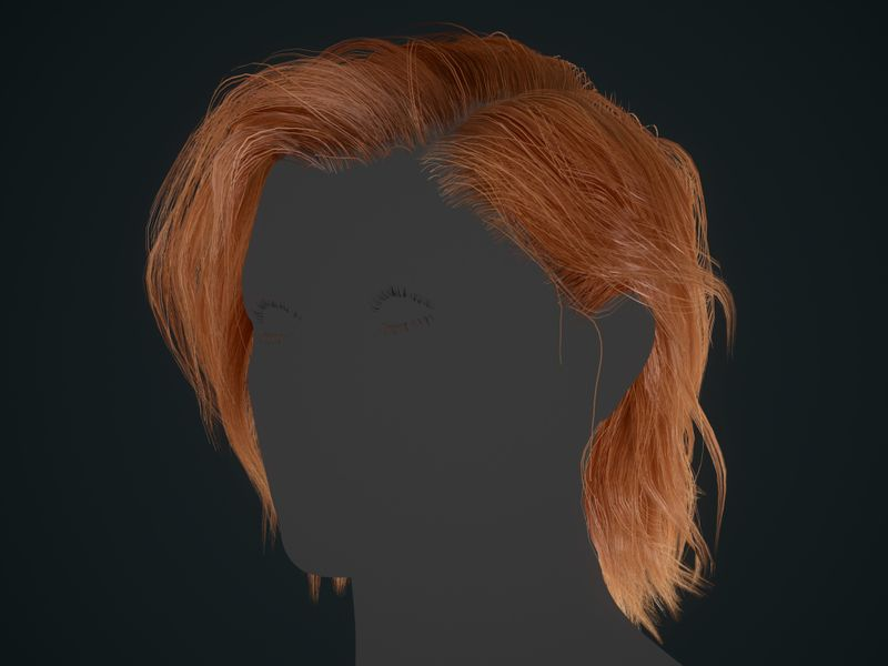 Realtime Hair (Banshee project)