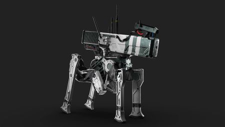 Keloid Robot - Hard Surface Modeling