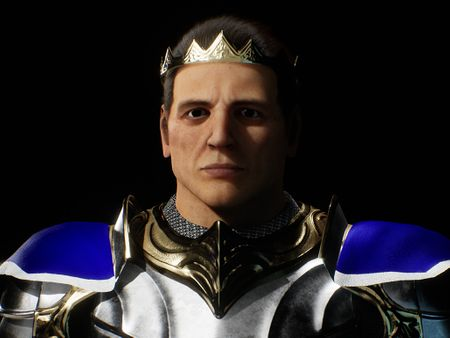 The King - UE4 Real Time Character