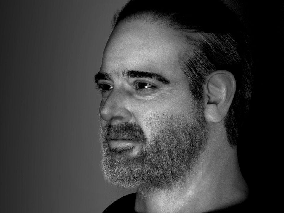 Jeffrey Dean Morgan - A 3D Portrait