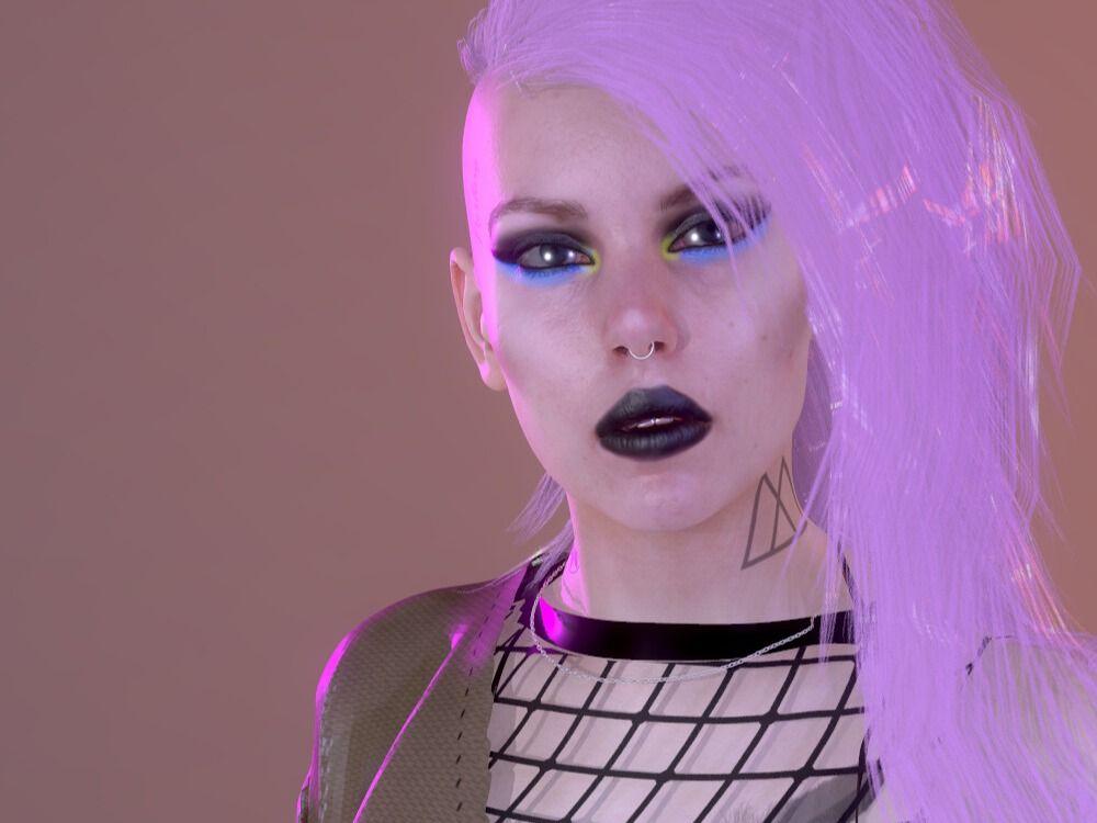 Cyberpunk Female