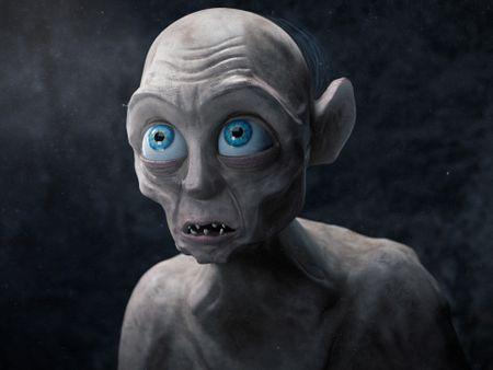 Stylized Gollum