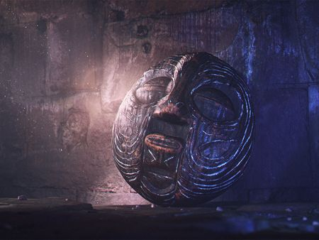 The Mysterious Wooden Mask