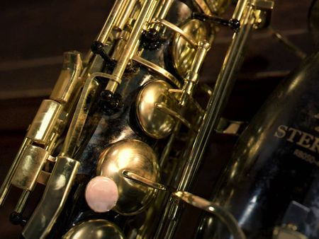 Sterling Saxophone Corroded by time