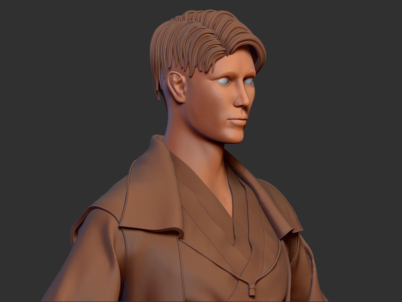 Jedi concept sculpt