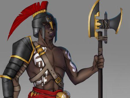 Chara design - Fantasy gladiator