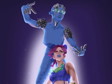 """""""This is my stand user"""""""