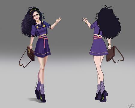 Character design - Masami
