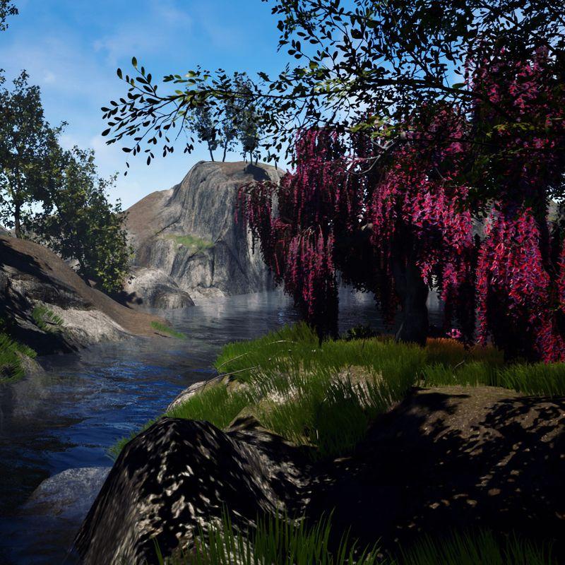 Willow landscape