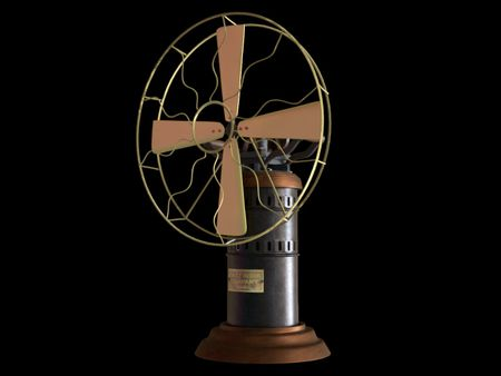 1845 fuel table fan