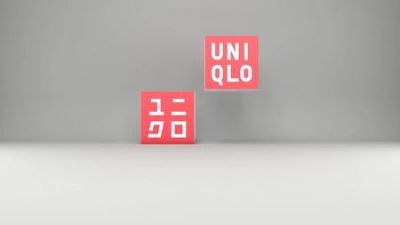 Uniqlo logo animation