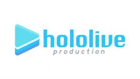 Hololive logo animation