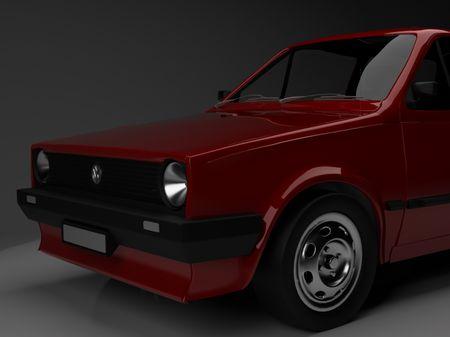 VW polo mk 2