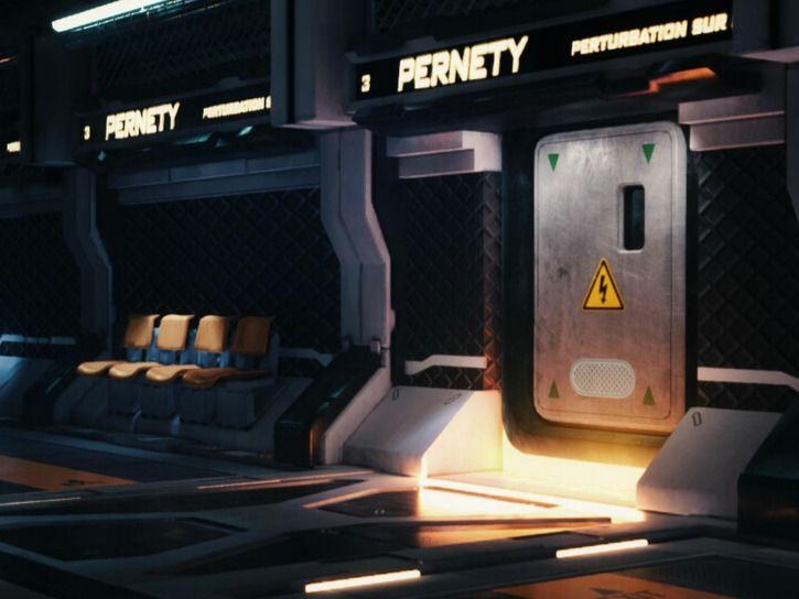 Metro Sci-Fi  UE4