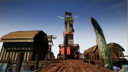 Unreal Engine Fishing Village