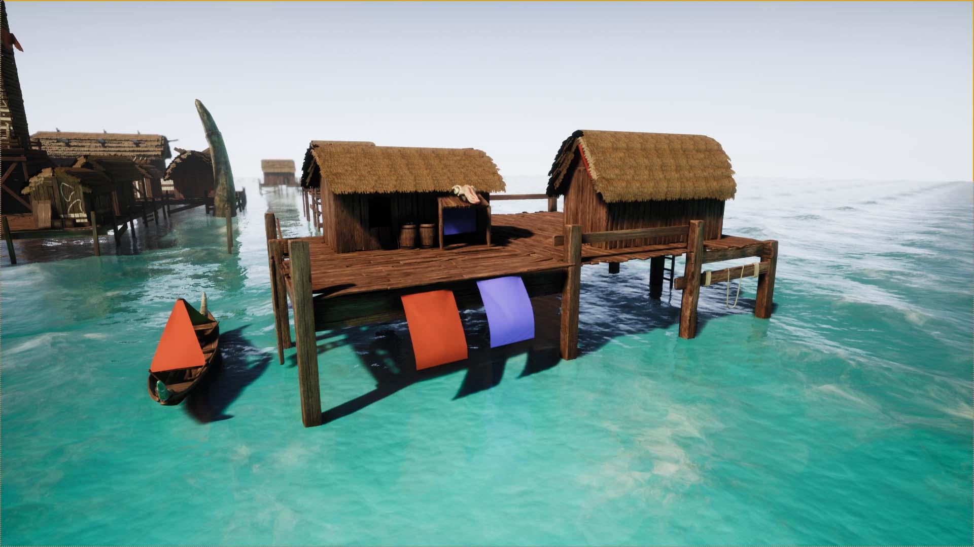 Unreal Engine Fishing Village   The Rookies