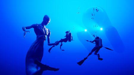 Mermaid (-man?)