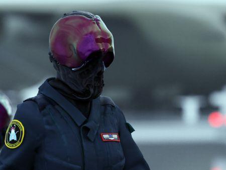 Colonial pilot helmet concept