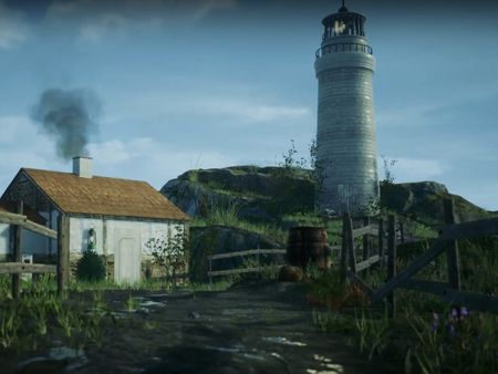 Lighthouse Game Environment and Assets