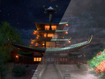 The rain temple