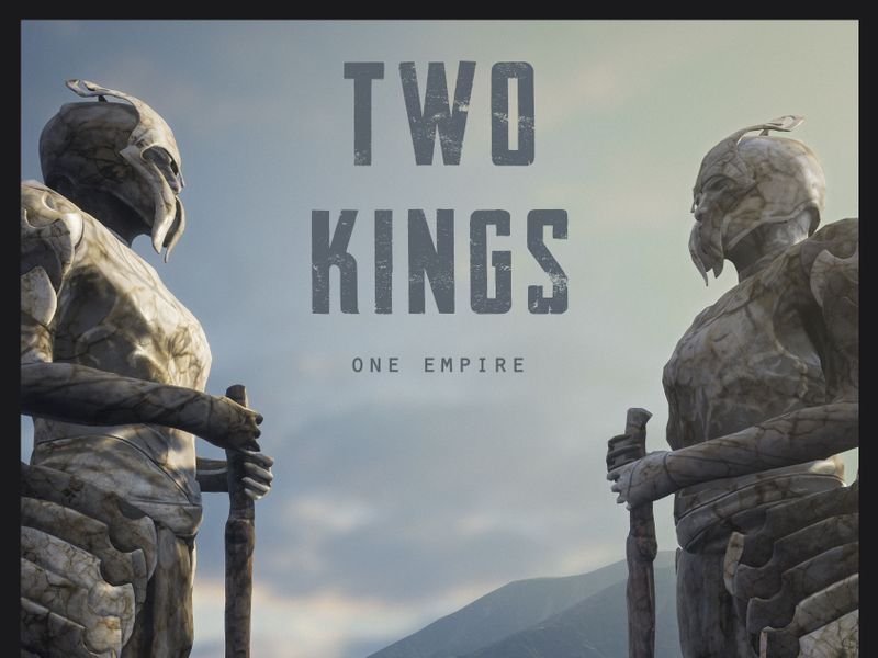 Poster Work : Two Kings