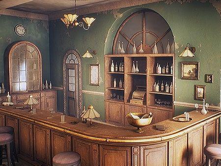 Abandoned Bar: 1965