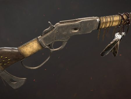 """Winchester M1873 """"Blanket Gun"""""""