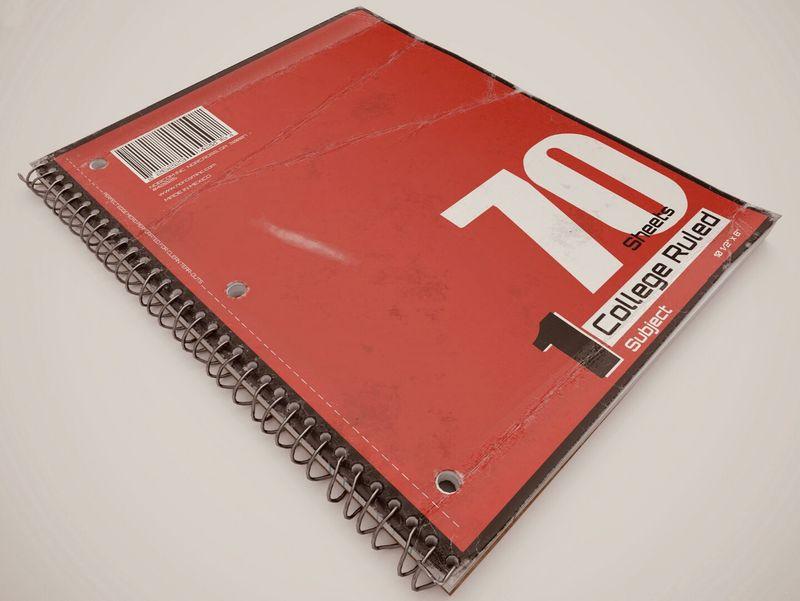 Worn Notebook