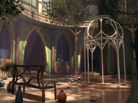 Elven Shrine Of Amon Lanc - 3D Project