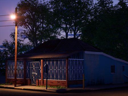 Evening house