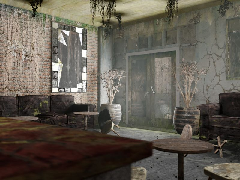 The Abandoned Cafe