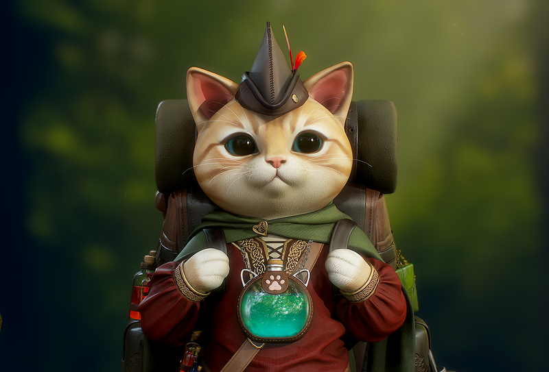 Potion merchant from Catnip Town