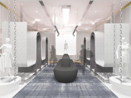 Retail Design -  Unorthodox Boldness