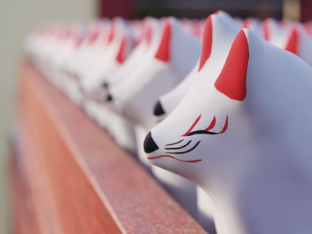 Inari Wishing Fox
