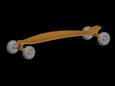 Modelado 3D Carveboard