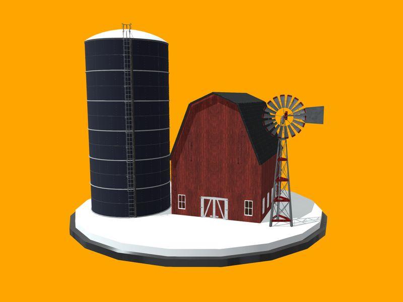 Midwestern Farm