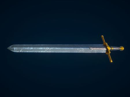 Used large sword