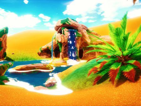 Desert Dungeon Environment
