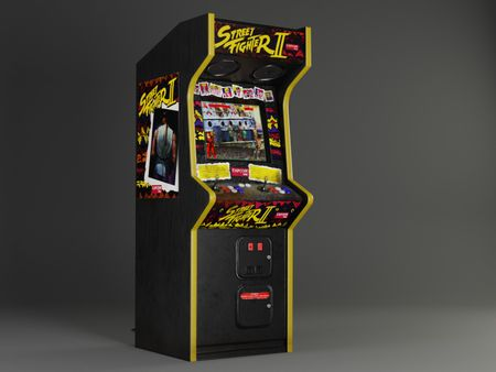 Street Fighter 2 Arcade Cabinet (1 Day Modelling Project)