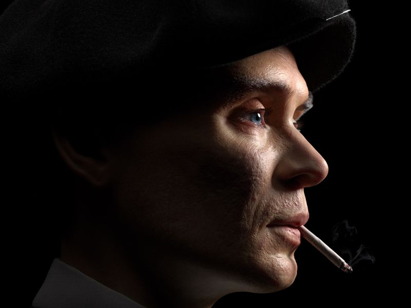 Portraits of Thomas Shelby