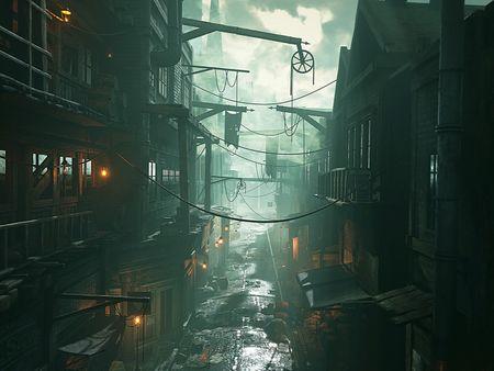 Old London Slums