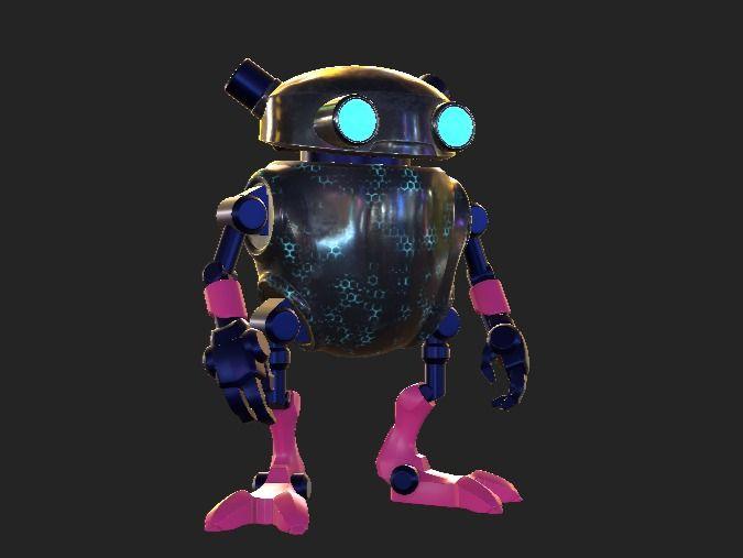 Eddie Neon Cyberpunk