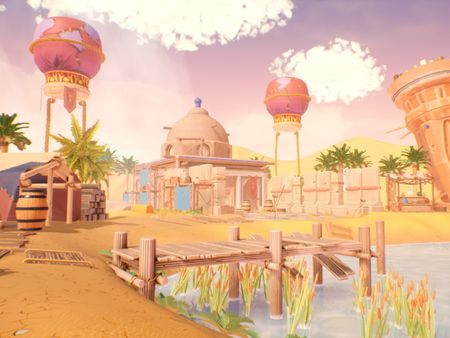 Stylized Persian Environment