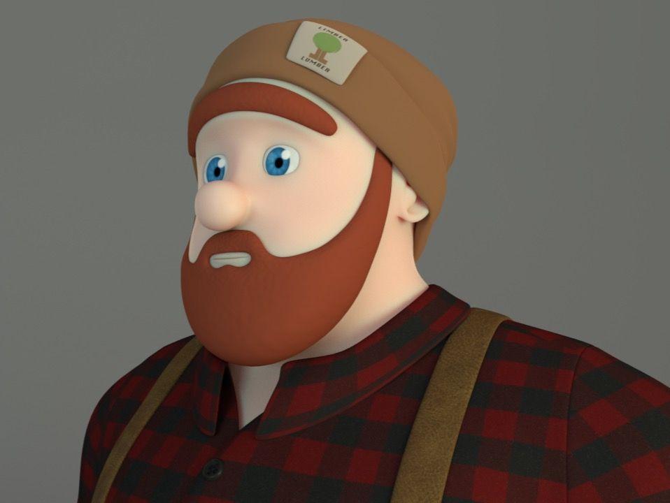 Lumby: Lumberjack of Limber Lumber Co.